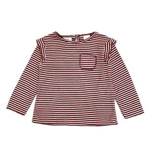 NWT Zara Baby Soft Touch Striped Top 9 12